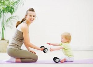 Cách giảm mỡ bụng sau khi sinh em bé?