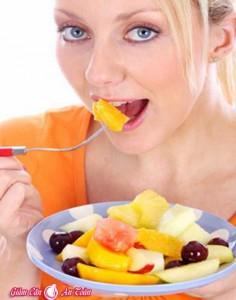 Cách đơn giản để giảm mỡ bụng với các món ăn