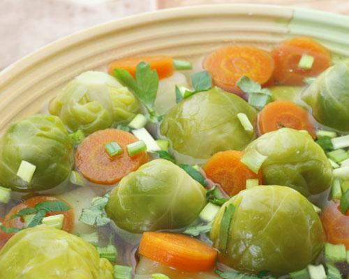 Ăn kiêng giảm béo với món súp bắp cải