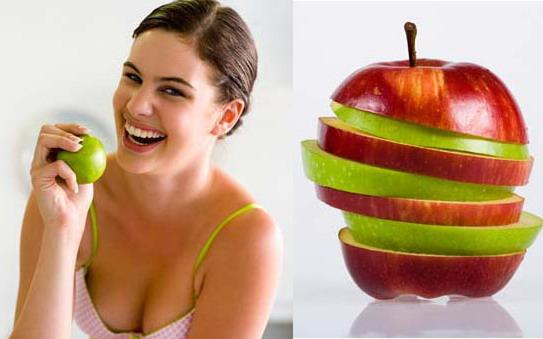 Chế độ ăn giảm béo bằng Táo