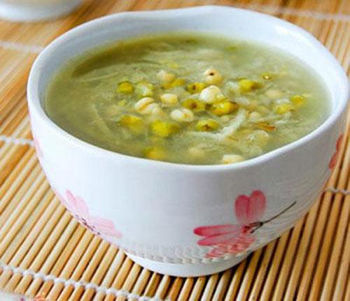 Giảm cân hiệu quả với các món ăn thanh nhiệt từ đậu xanh