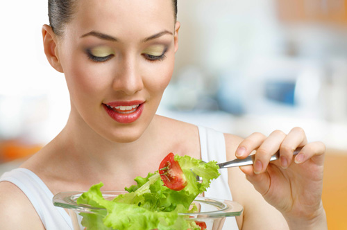Chia nhỏ bữa ăn hàng ngày để giảm béo bụng