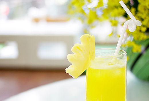 Giảm cân sau sinh hiệu quả với nước ép dứa bí xanh