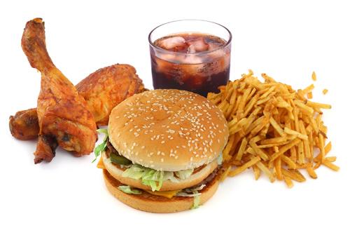 Loại bỏ những đồ ăn thức uống không lành mạnh
