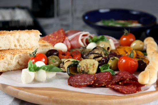 Thực đơn giảm béo hàng ngày của Địa Trung Hải