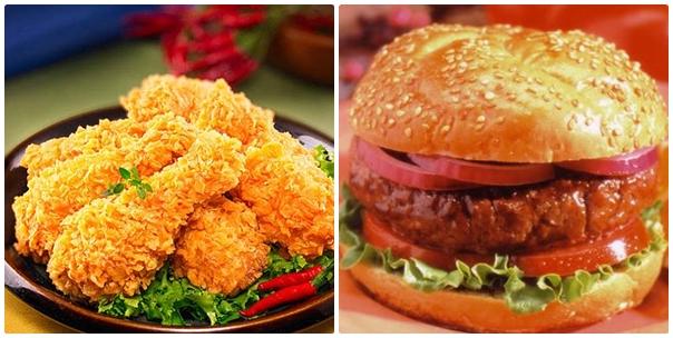Đồ ăn nhanh theo kiểu phương Tây không tốt cho việc giảm béo của bạn