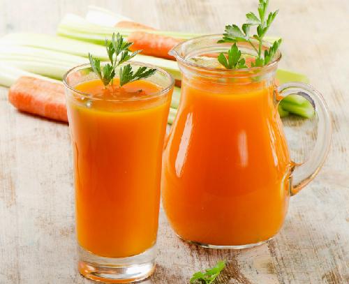 Nước ép cà rốt có tác dụng giảm béo