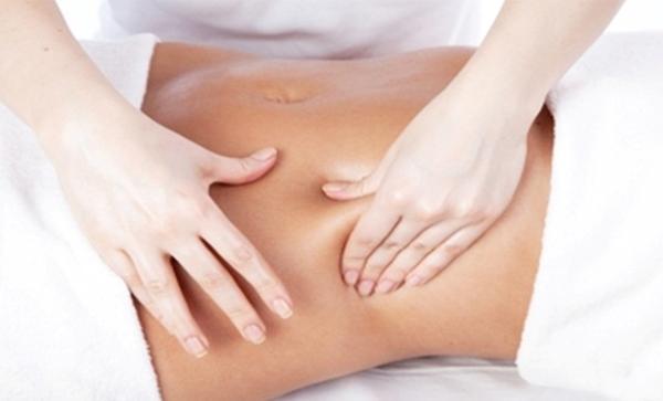 Cách đơn giản để giảm mỡ bụng là massage