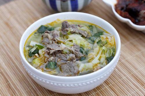 Làm súp bắp cải để giảm béo bụng trong 7 ngày