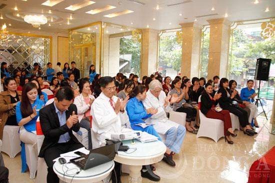Chương trình tạo sự thu hút với khách hàng nhờ sự tham gia của 2 chuyên gia thẩm mỹ hàng đầu