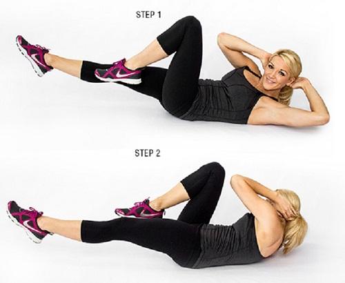 Bài tập giảm mỡ bụng nhanh cho nam và nữ