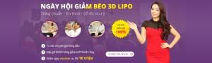 Ngày hội Giảm béo3D LIPO – Cơ hội miễn phí 100% dịch vụ
