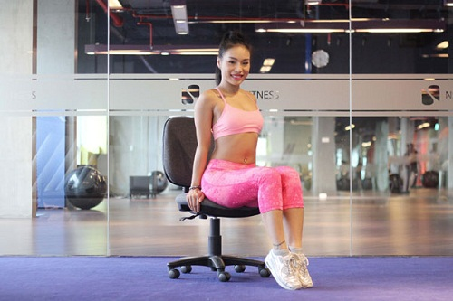Bài tập giảm béo dễ dàng thực hiện ngay tại chỗ ngồi
