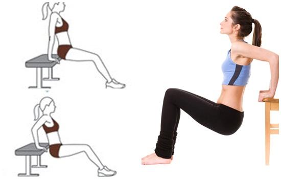 Hãy tập luyện thường xuyên đều đặn hàng ngày để làm giảm mỡ bắp tay