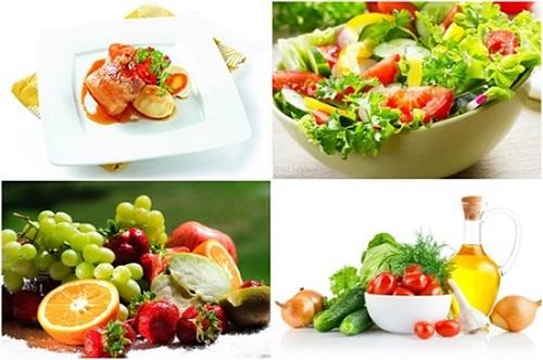 Thực hiện chế độ ăn uống khoa học trong và sau khi giảm béo