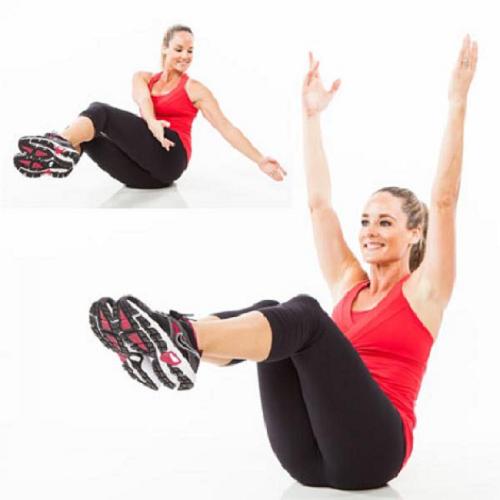 Tập thể dục giảm mỡ bụng giúp đẹp dáng, người khỏe