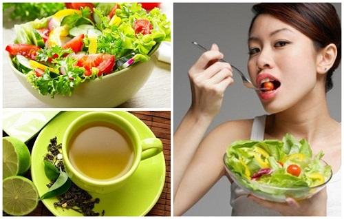 Phương pháp giảm béo nhanh bằng việc ăn kiêng