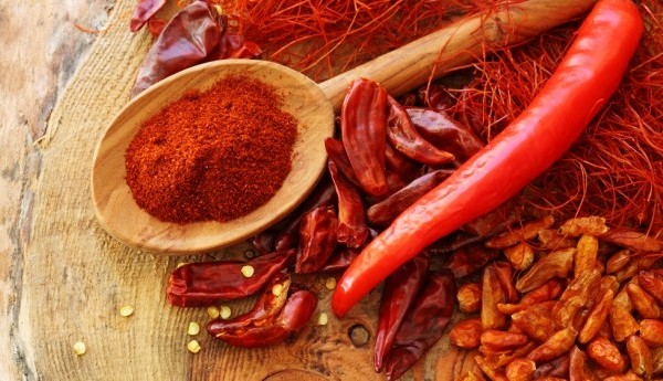 giảm mỡ bụng bằng bột ớt