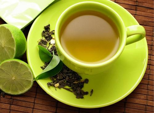 Giảm mỡ bụng bằng loại trà xanh