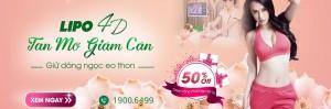 Lipo 4D – Tan mỡ giảm cân, giữ dáng ngọc eo thon: OFF 50% trong tháng 10