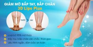 Săn chắc, thon gọn với CN giảm mỡ bắp tay, bắp chân 3D Lipo Plus