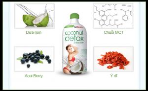 Coconut detox giảm cân là gì? Hướng dẫn cách làm và sử dụng