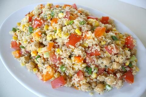 Hạt Quinoa có thể thay cơm