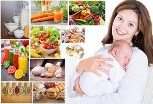Chế độ giảm cân sau sinh hiệu quả nhanh cho mẹ đẹp con khỏe