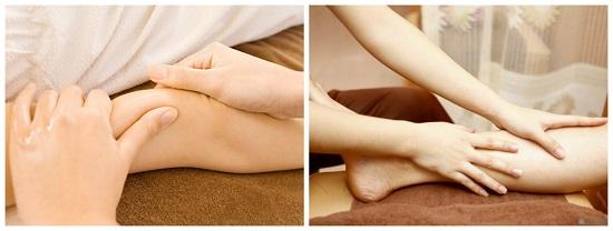 Phương pháp giảm mỡ bắp tay, bắp chân bằng massage