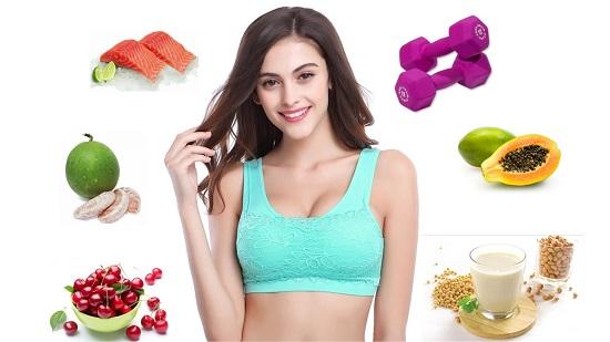 Chế độ ăn uống khoa học khi thực hiện tập thể dục giảm mỡ bụng
