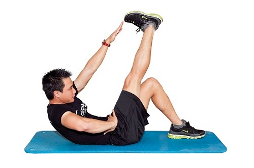 Tập thể dục giảm mỡ bụng cho nam tại nhà, không tốn kém