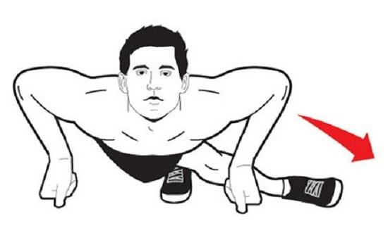 Chống đẩy có giảm mỡ bụng không? Bài tập giảm mỡ bụng tại nhà 4