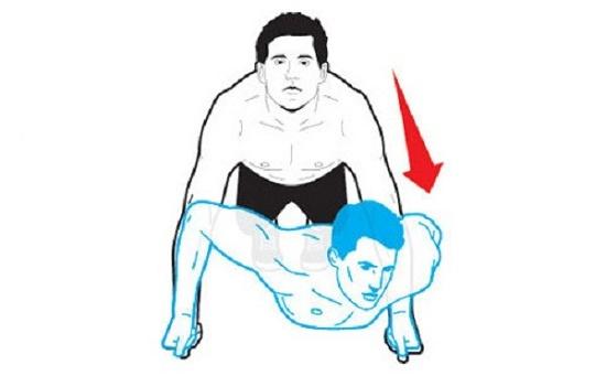 Chống đẩy có giảm mỡ bụng không? Bài tập giảm mỡ bụng tại nhà 6